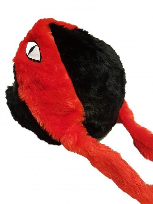 Żółw czarno-czerwony