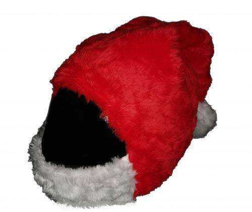 Czapka św. Mikołaja nakładka na kask