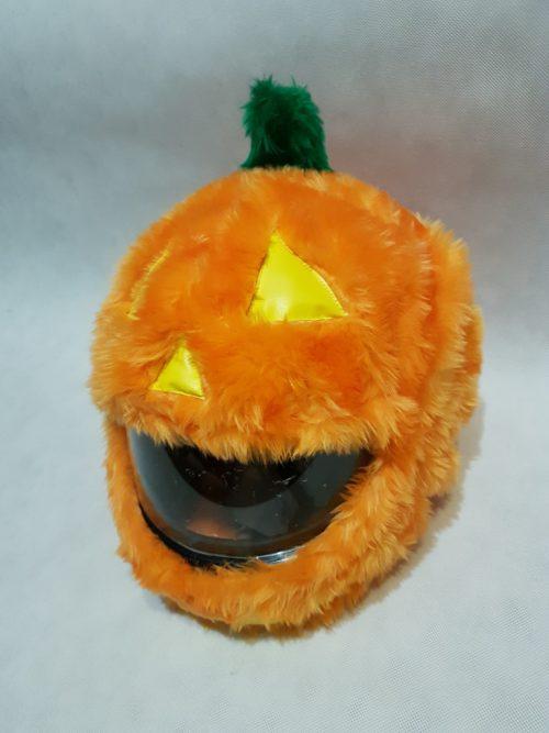 Dynia – halloween nakładka na kask
