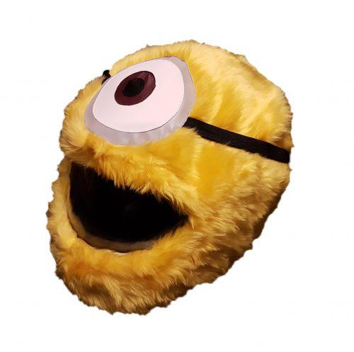 Yellow Eye pokrowiec na kask