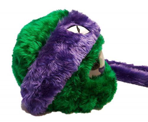 Żółw zielono-fioletowy