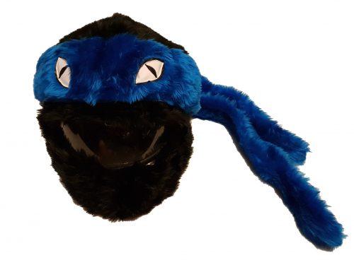 Żółw czarno-niebieski
