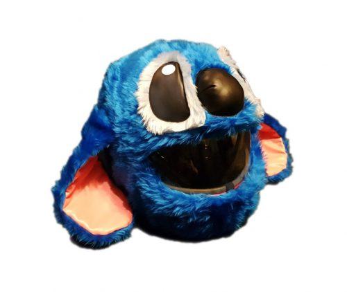 Blue Creature Czapkokask