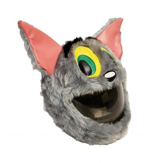 Czapkokask Grey Monster