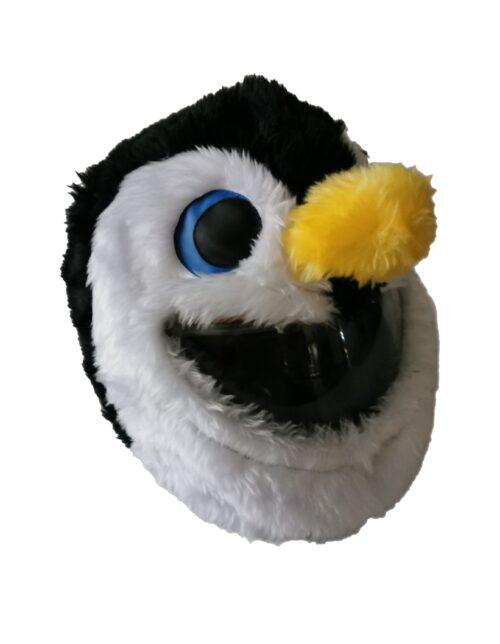 Pingwin nakładka na kask