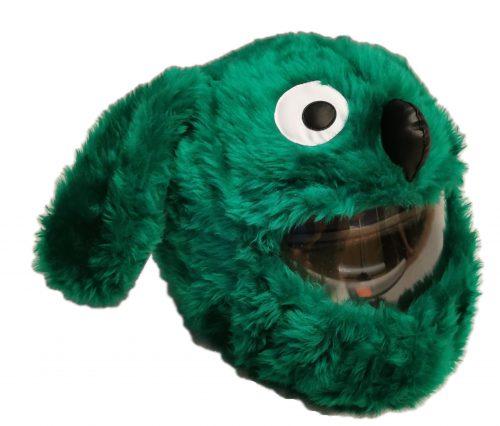 Green Dog Czapkokask