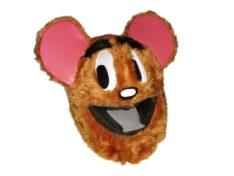 Mysz Brązowa - czapkokask