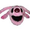 Pink Creature Helmet Cover
