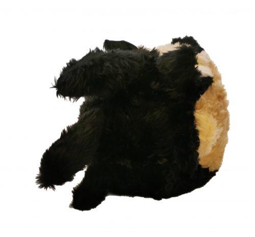 Nakładka na kask lis czarny